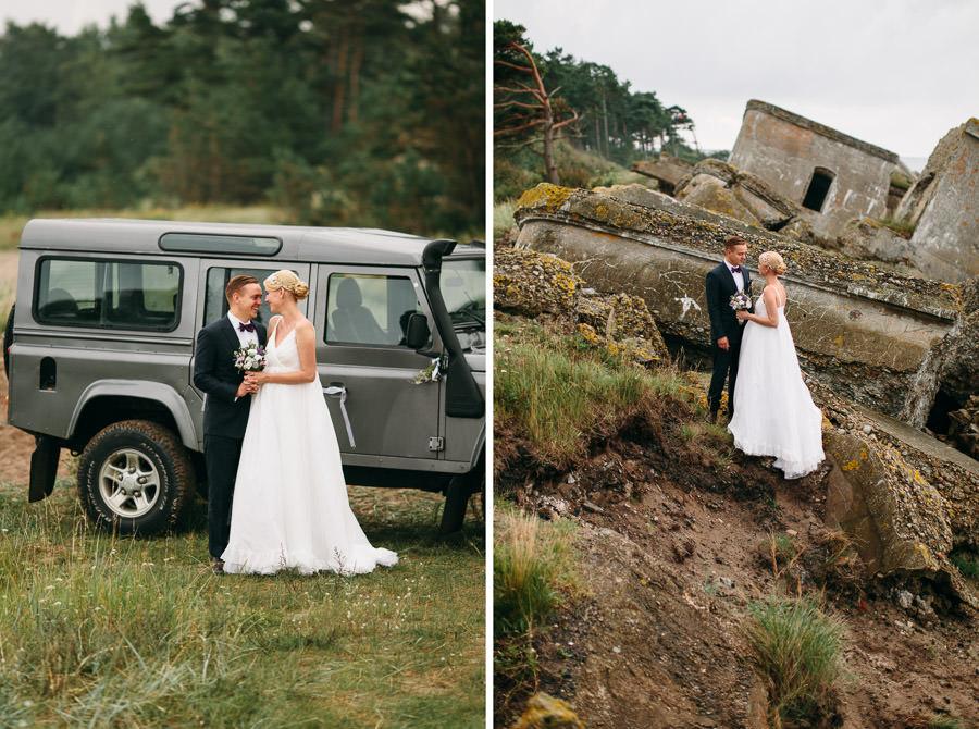 kāzu fotosesija karaostā