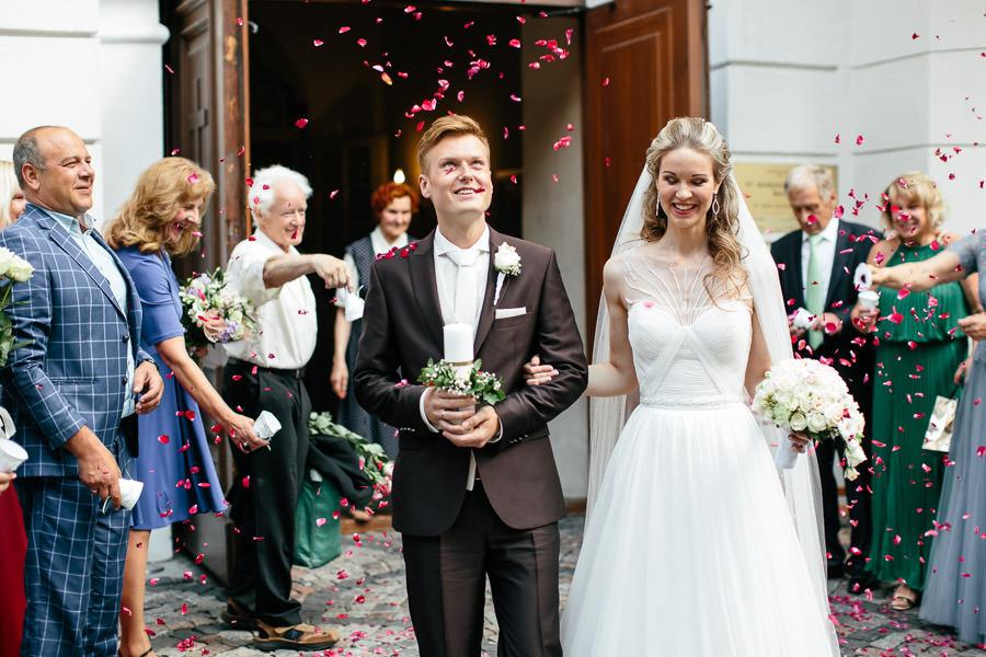 laime kāzās