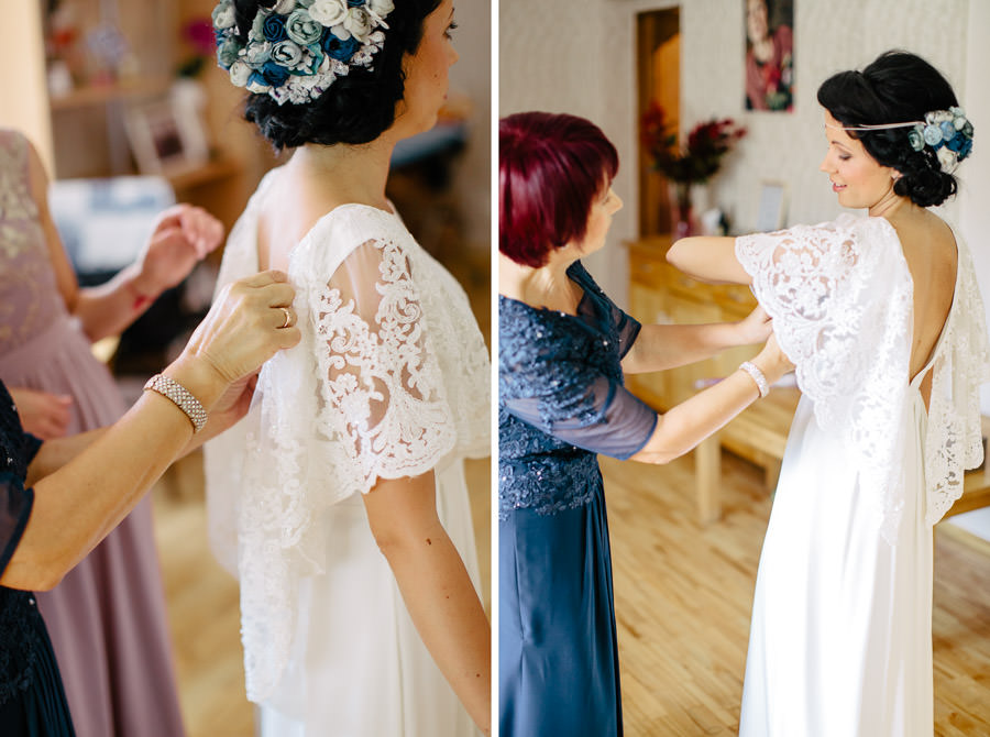 līgavas kleitas vilkšana