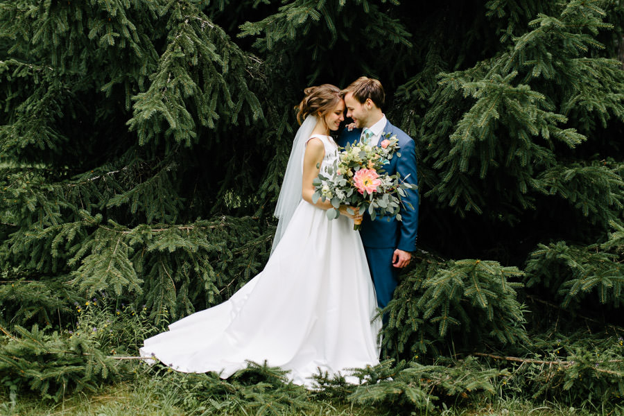 kāzas dabā ārā