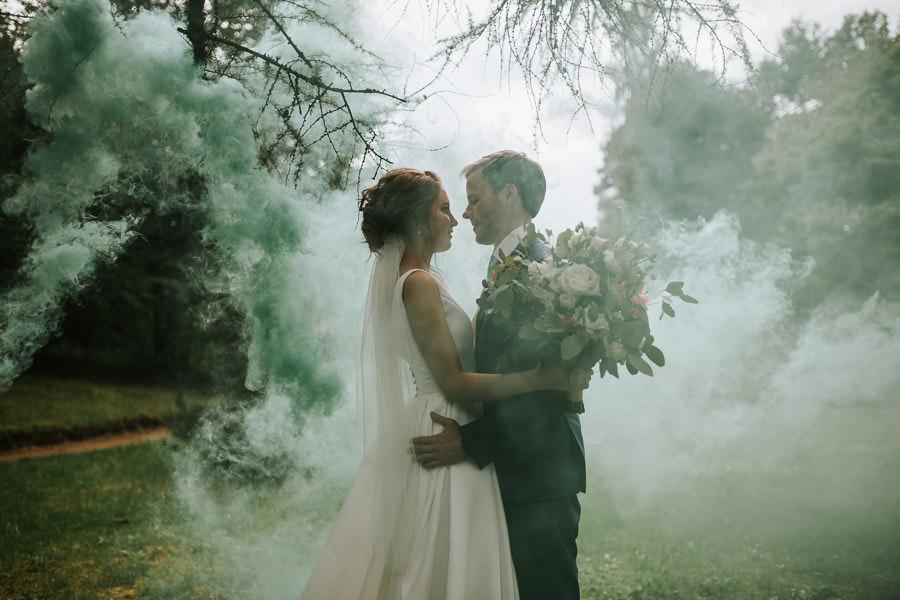 kāzas dūmu sveces