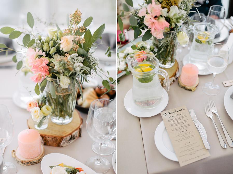 kāzas ostas skati dekorācijas