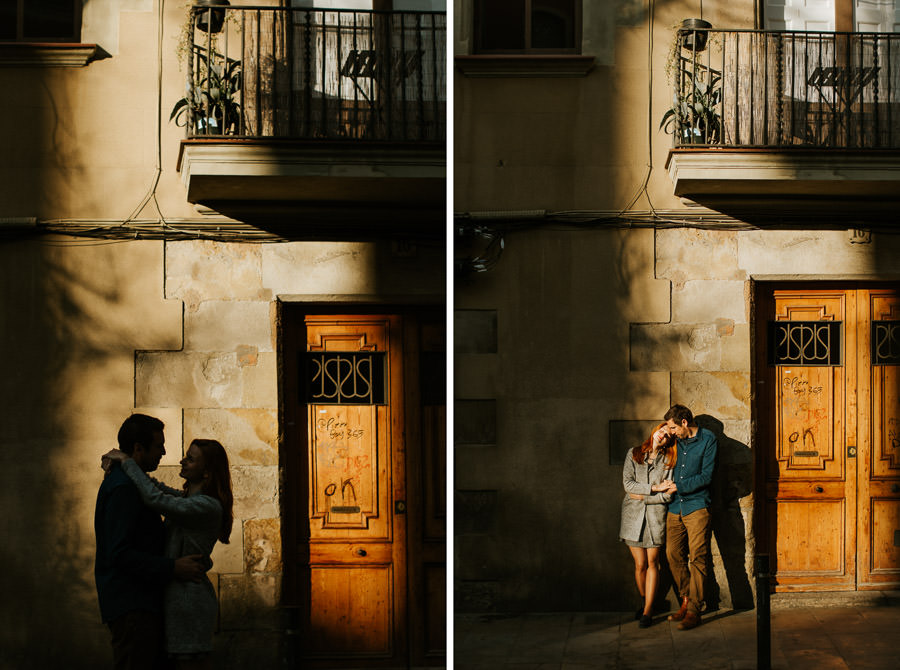engagement photoshoot in barcelona