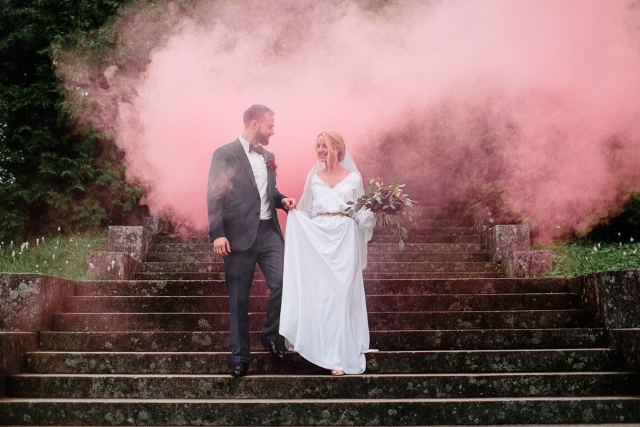 dūmu sveces kāzās