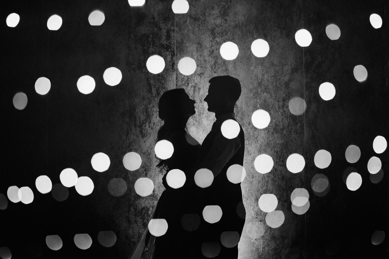 double exposure wedding