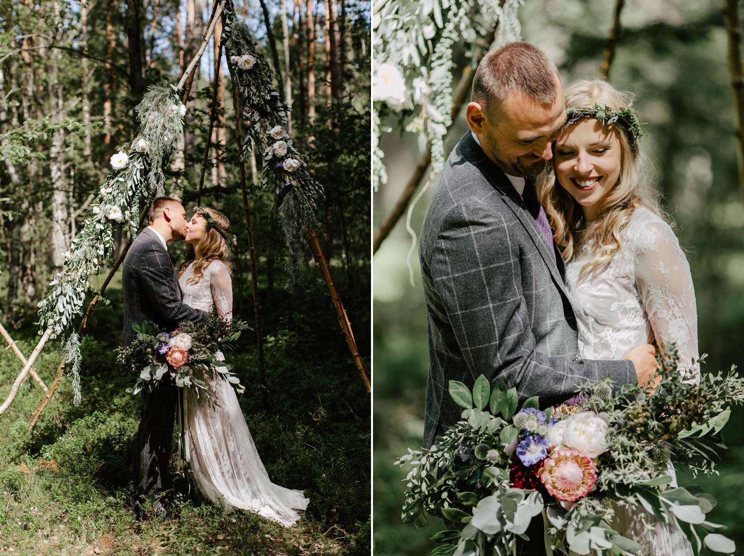 elopement in forest