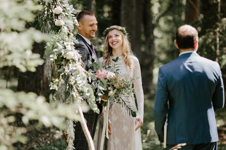 wedding-ceremony-forest