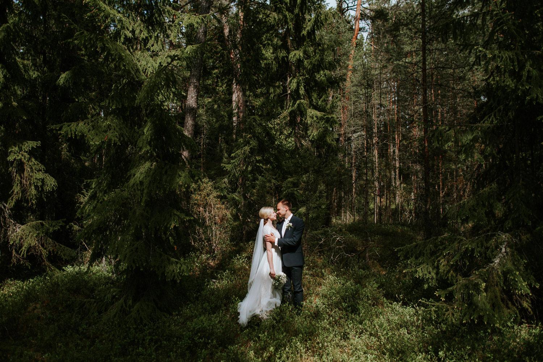 forest elopement