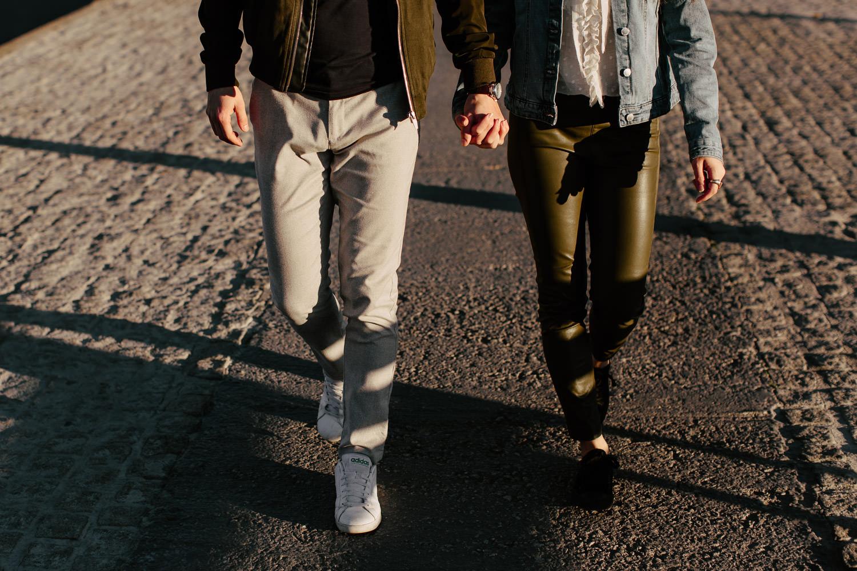 romantic walk barcelona
