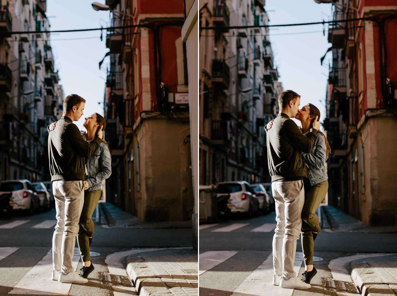 romantic photos in barcelona