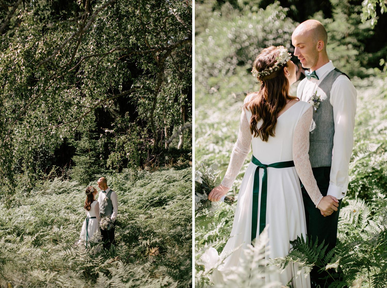 kāzu fotosesija papardēs