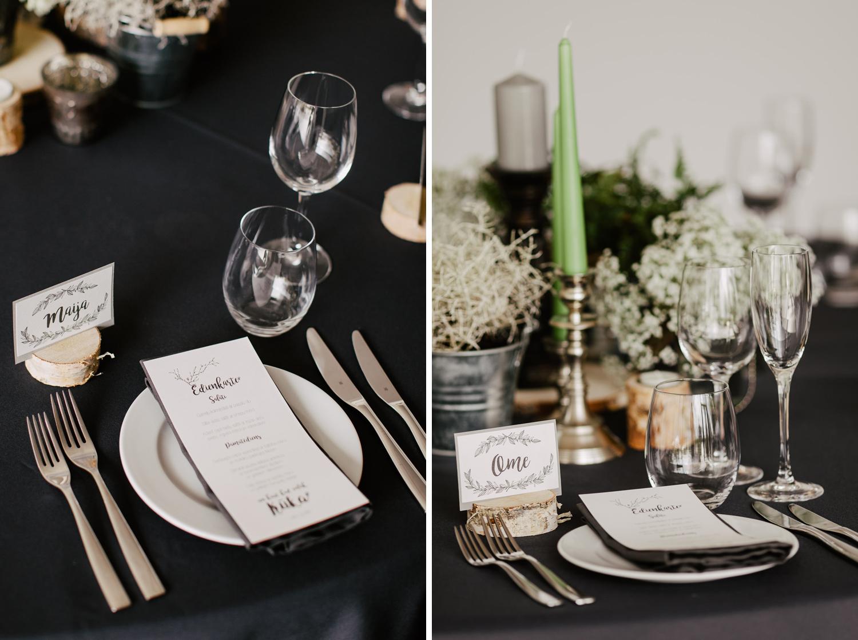 white deco kāzu dekorēšana
