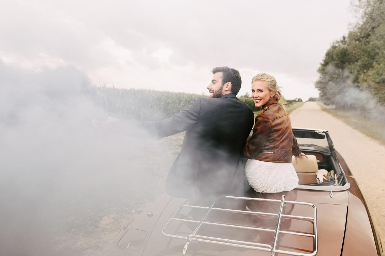 dūmu sveces kāzas