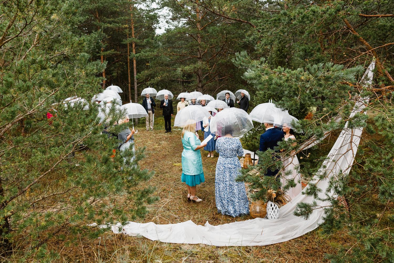 kazu ceremonija lietus